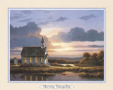 Peaceful Wood Church