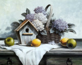 Birdhouse  Hydrangea  Apple