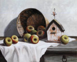 Birdhouse  Basket  Apple
