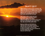 Don&#39;t Quit