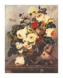 Roses  Carnations  Convolvuli