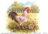 Hen with Basket