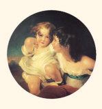Portrait des Enfants de Charles B Calmady