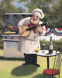 Barbecue Chef  Banjo
