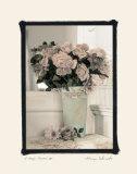 Vintage Flowers IV  Floral Vase