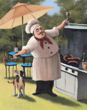 Barbecue Chef  Dog