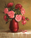 Red Vase I