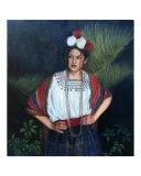 Young Maya Girl from Guatemala