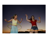 Happy Girl Series - Crystal and Kendra and Hula Hoops