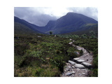 Path to the North Face of Ben Nevis  Scotland