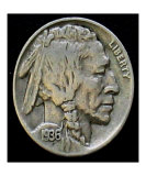 Indian Head Nickel 1936