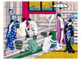 Women in Public Bathhouse