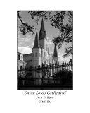 St Louis Cathedral - Black & White