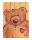 Teddy Bear with Heart Patch