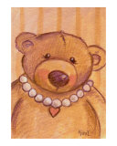 Teddy Bear with Heart Necklace