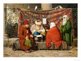 A Turkish Notary Drawing up a Marriage Contract  Constantinople  1837