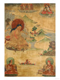 An East Tibetan Thangka Depicting MiLaRasPa  19th Century