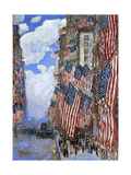 The Fourth of July, 1916 Giclée par Childe Hassam