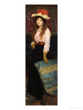 Portrait of Miss MacWirter  Small Full Length in an Interior