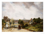 View of the City of London from Sir Richard Steele's Cottage  Hampstead