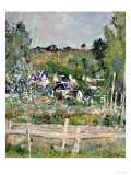 A View of Auvers-Sur-Oise; the Fence