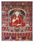 An Important Tibetan Thangka Depicting BkraShisDpal circa 1300
