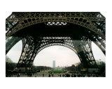 Under the Eiffel Tower  Paris