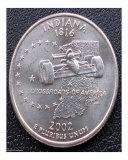 Indiana State Quarter 2002