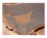 Petroglyph  Two Big Horn Sheep