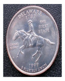 Delaware State Quarter 1999
