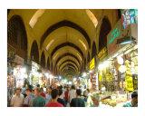 Interior of Spice Bazaar