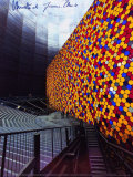 The Wall No. 1 Oberhausen - Signed Reproduction pour collectionneurs par Christo