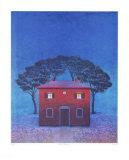 Haus in Arezzo - Blau