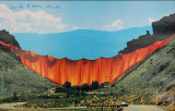 Valley Curtain 1970-1972 - Signed