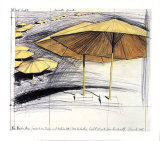 The Yellow Umbrellas III