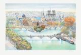 Paris  panorama vers l'Est I
