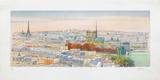 Paris  panorama vers Notre-Dame II