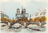 Paris  L'Abside de Notre Dame