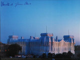 Reichstag - Abenddaemmerung - Signed