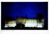 Reichstag - Westfassade Bei Tiefer Nacht - Signed