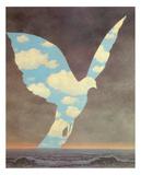 Le Grande Famille Reproduction d'art par Rene Magritte