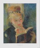 Girl Reading  La Liseuse
