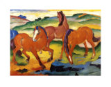 The Large Red Horses  1911