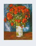 Les coquelicots, 1886 Reproduction d'art par Vincent Van Gogh