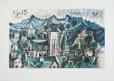 Paysage Reproduction pour collectionneurs par Pablo Picasso