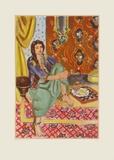 The Odalisque Reproduction pour collectionneurs par Henri Matisse