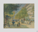 Boulevard in Spring