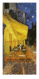 The Café Terrace on the Place du Forum  Arles  at Night  c1888 (detail)