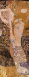 Serpent de mer I Reproduction d'art par Gustav Klimt