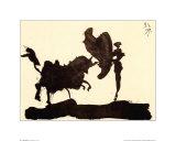 Toros Y Toreros Reproduction d'art par Pablo Picasso